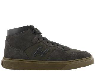 Hogan Hogan H365 Basket Sneakers (bruin)