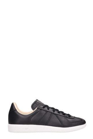 Adidas Adidas Bw Army Black Leather Sneakers (zwart)