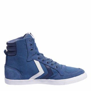 Hummel Slimmer Stadil High TW sneakers jongens (blauw)