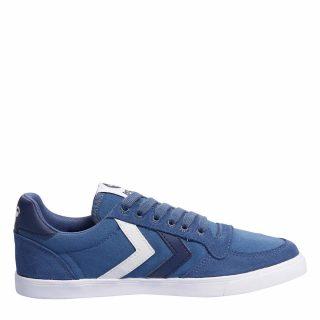 Hummel Slimmer Stadiol Low TW sneakers kids (blauw)