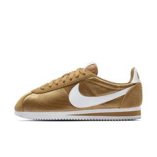 Nike Classic Cortez Nylon Damesschoen - Bruin Bruin