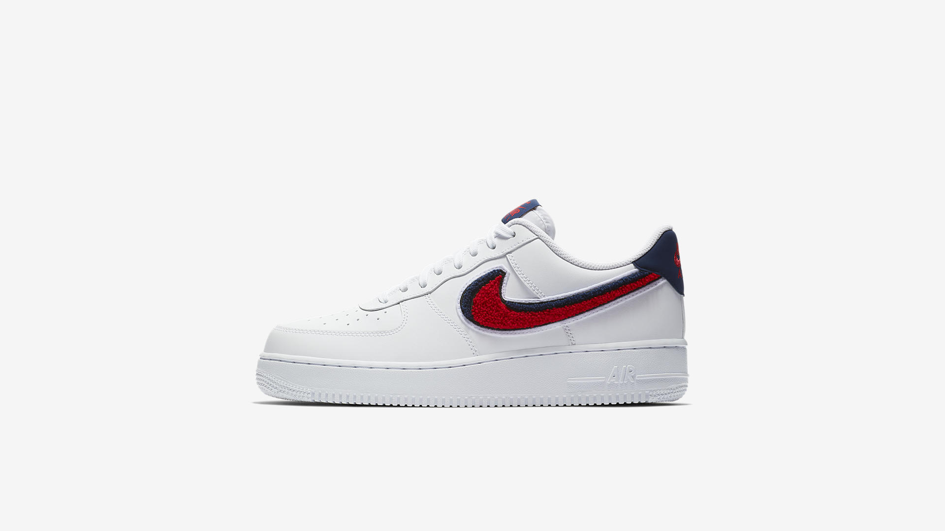 Nike Air Force 1 '07 WhiteUniversity RedBlue Void | Nike