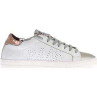 P448 Witte/Zilveren Thea Sneakers