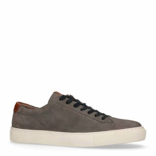 No Stress nubuck sneakers antraciet (grijs)