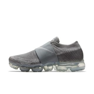 Nike Air VaporMax Flyknit Moc Hardloopschoen voor dames - Grijs grijs