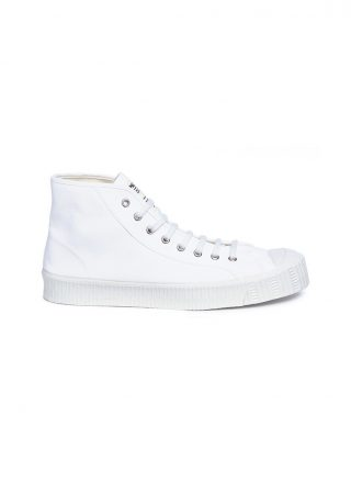 Spalwart 'Special Mid' high top canvas sneakers (wit)