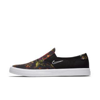 Nike SB Portmore II Solarsoft Slip-on Skateschoen voor heren - Zwart Zwart