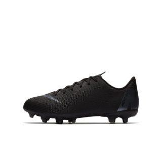 Nike Jr. Mercurial Vapor XII Academy Voetbalschoen voor kleuters/kids (meerdere ondergronden) - Zwart Zwart