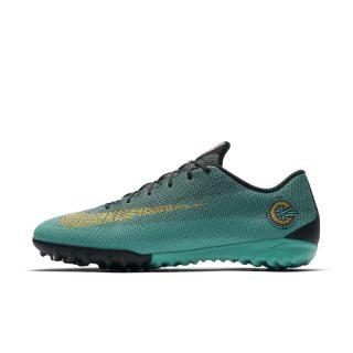 Nike MercurialX Vapor XII Academy CR7 Voetbalschoen (turf) - Groen Groen