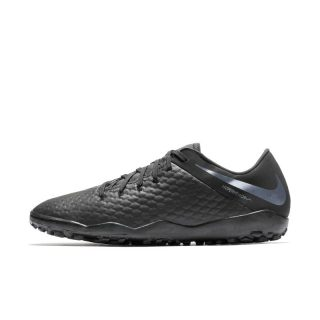 Nike HypervenomX III Academy TF Voetbalschoen (turf) - Zwart Zwart