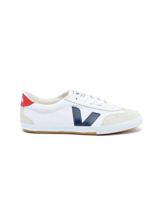 Veja 'Volley' organic canvas sneakers (wit)