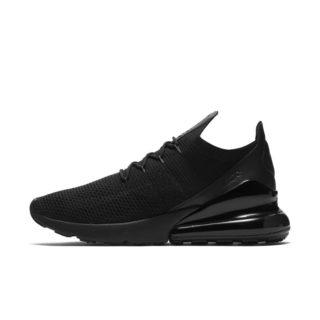 Nike Air Max 270 Flyknit Herenschoen - Zwart zwart