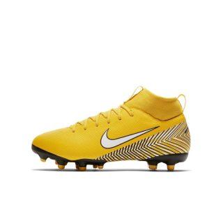 Nike Jr. Mercurial Superfly VI Academy Neymar Jr Voetbalschoen voor kleuters/kids (meerdere ondergronden) - Geel geel