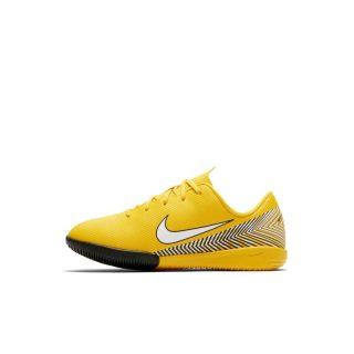Nike Jr. Mercurial Vapor XII Academy Neymar Jr Zaalvoetbalschoen voor peuters/kleuters - Geel geel