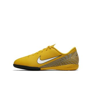 Nike Jr. Vapor XII Academy Neymar Jr IC Zaalvoetbalschoen voor kleuters/kids - Geel geel