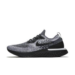 Nike Epic React Flyknit Hardloopschoen voor heren - Zwart Zwart