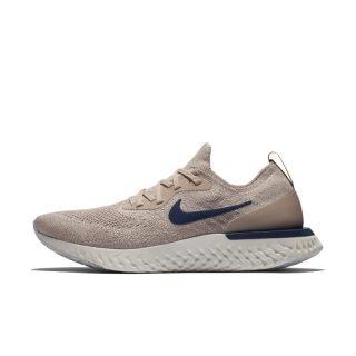 Nike Epic React Flyknit Hardloopschoen voor heren - Bruin bruin