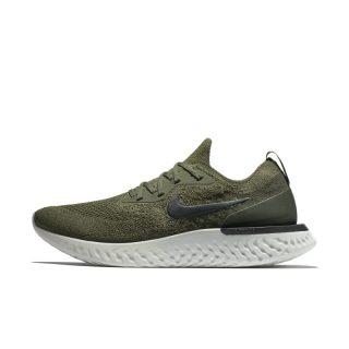 Nike Epic React Flyknit Hardloopschoen voor heren - Khaki Khaki