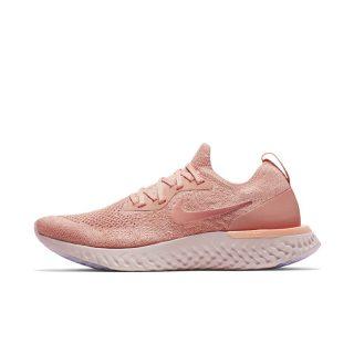 Nike Epic React Flyknit Hardloopschoen voor dames - Roze roze