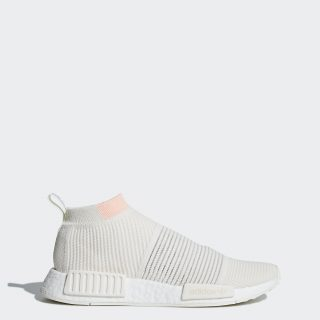 adidas NMD_CS1 Primeknit BBA44 (Cloud White / Cloud White / Clear Orange)