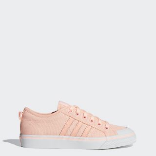 adidas Nizza Low AQV20 (Pink / Clear Orange / Crystal White)