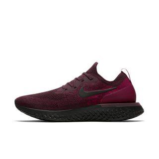 Nike Epic React Flyknit Hardloopschoen voor heren - Rood Rood