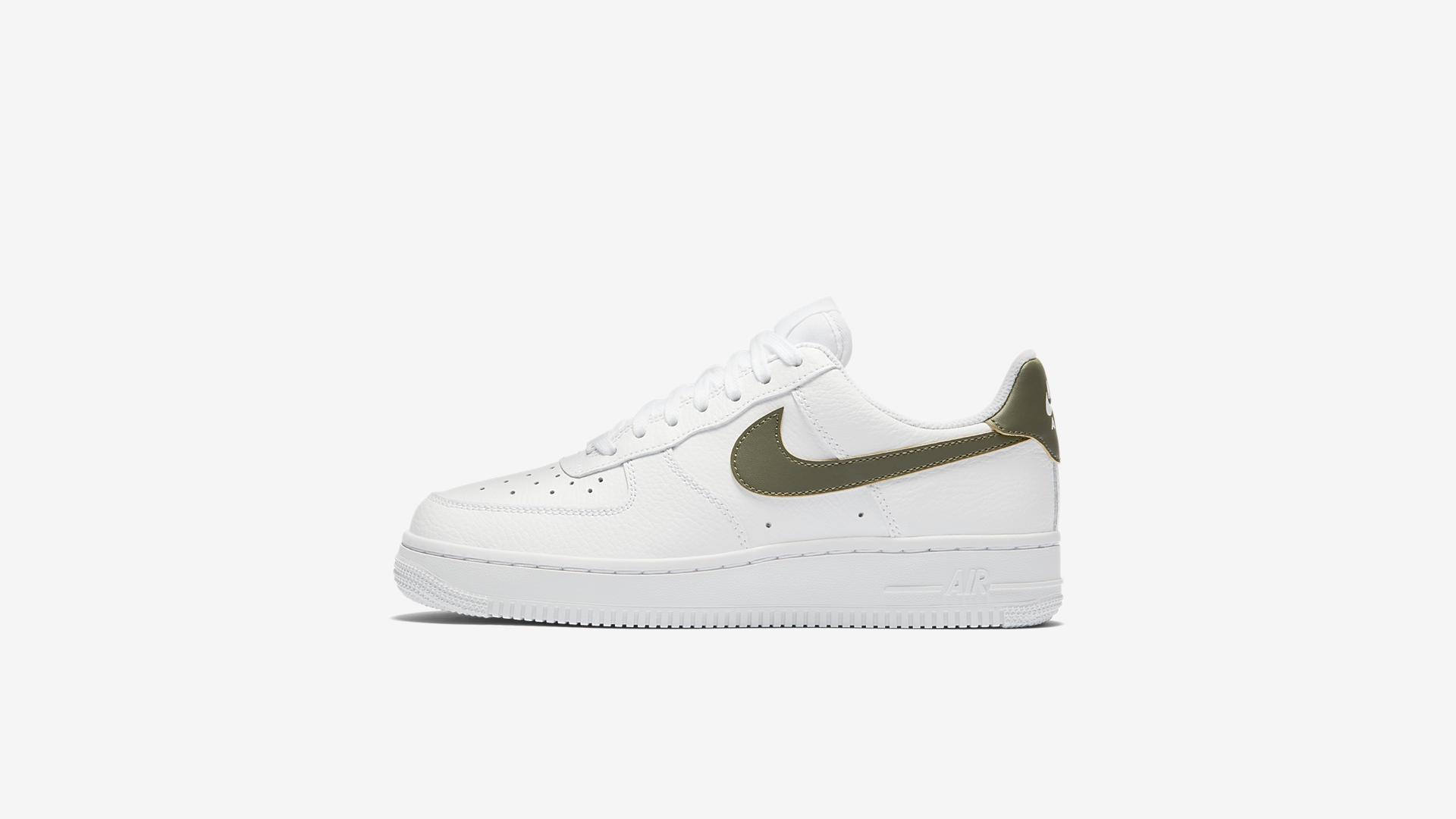 Nike Air Force 1 '07 White/Medium Olive (AV5190-100)
