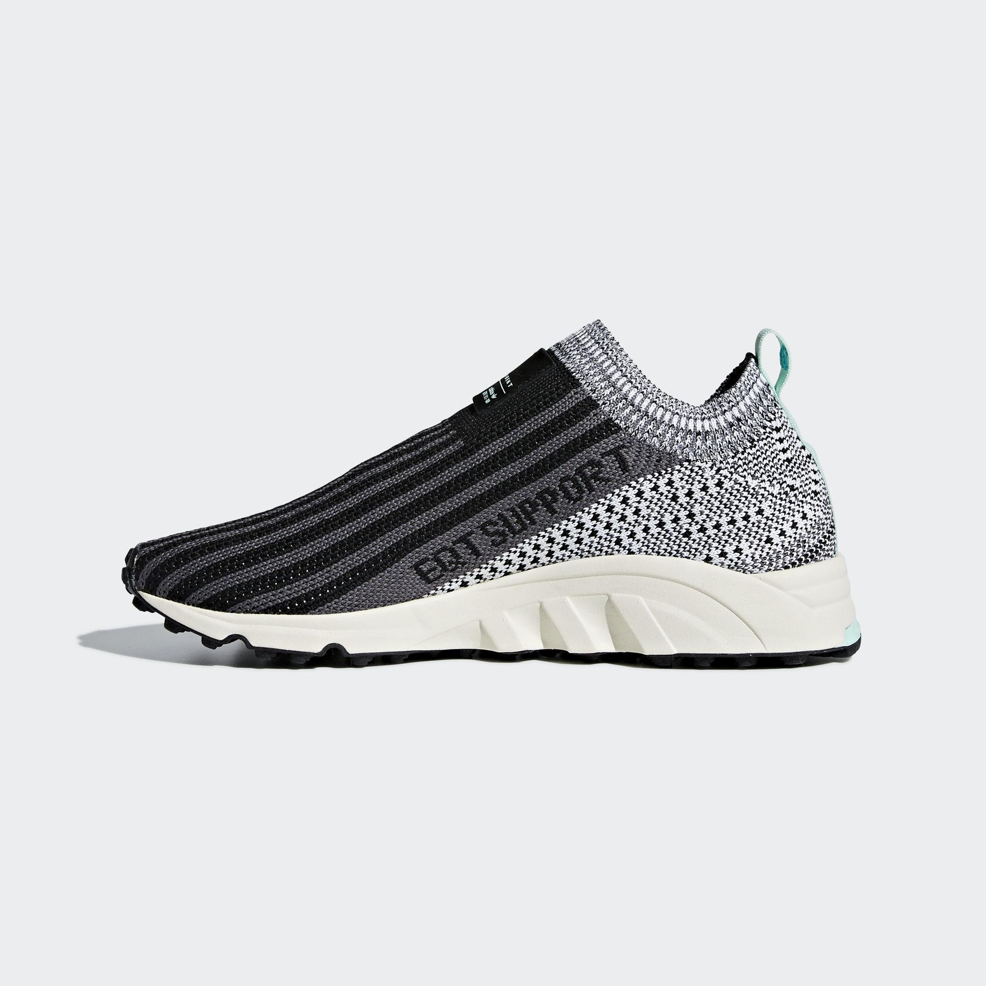 adidas EQT Support Sock Black White (B37528)