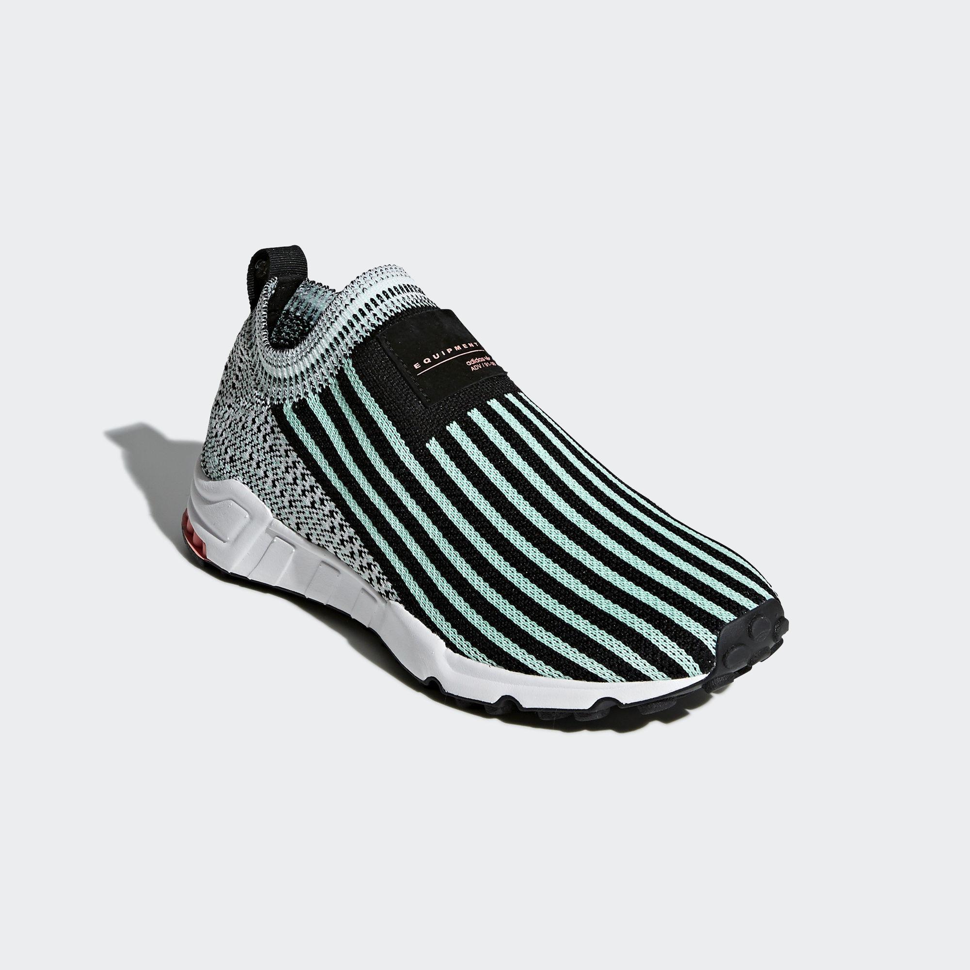 adidas EQT Support Sock Core Black / Clear Mint / Ftwr White (B37530)