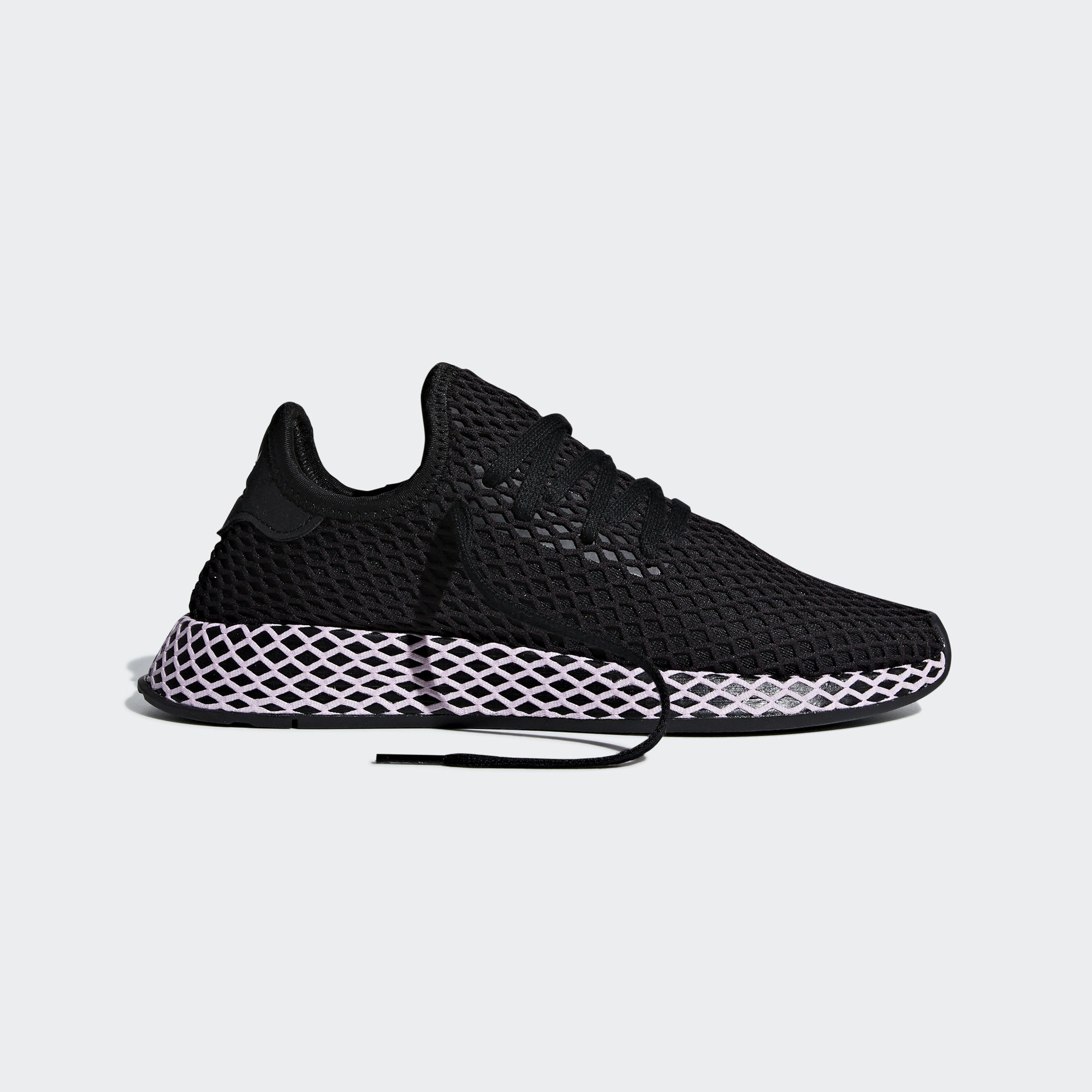 Adidas Deerupt Runner Core Black / Clear Lilac (B37602)