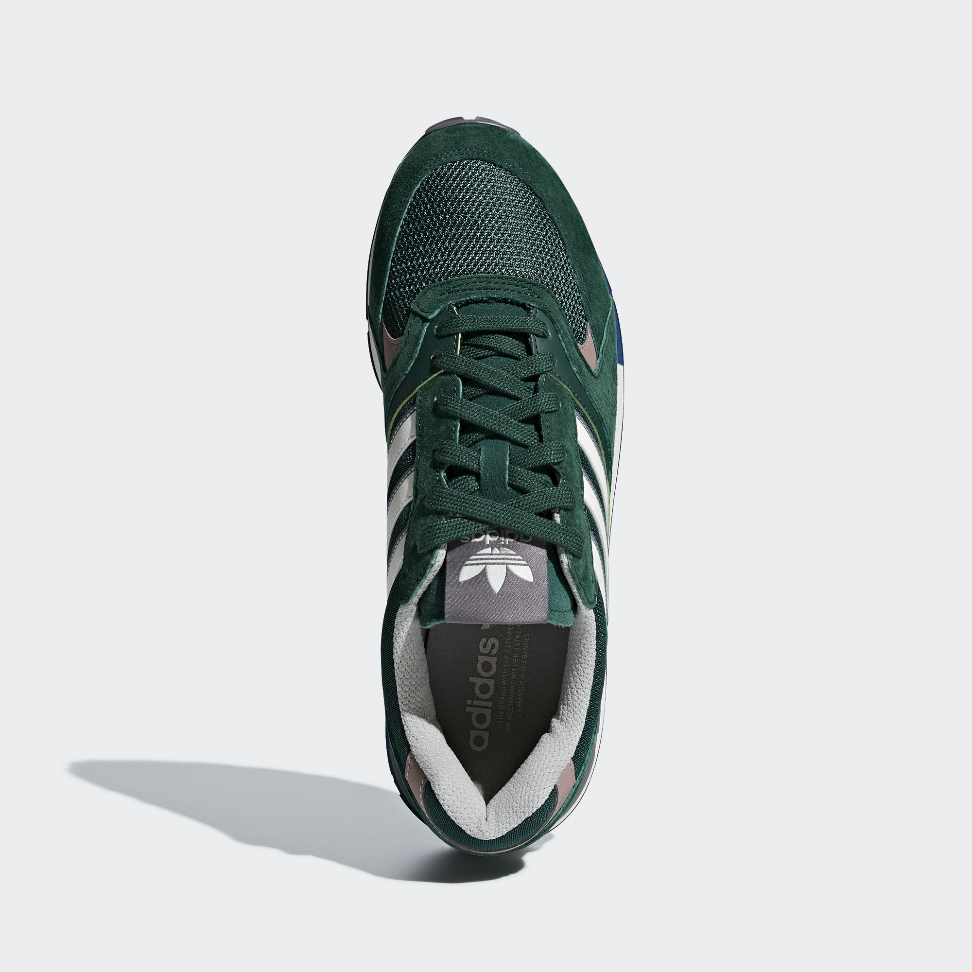 Adidas Quesence Collegiate Green / Noble Green / Chalk White (B37851)