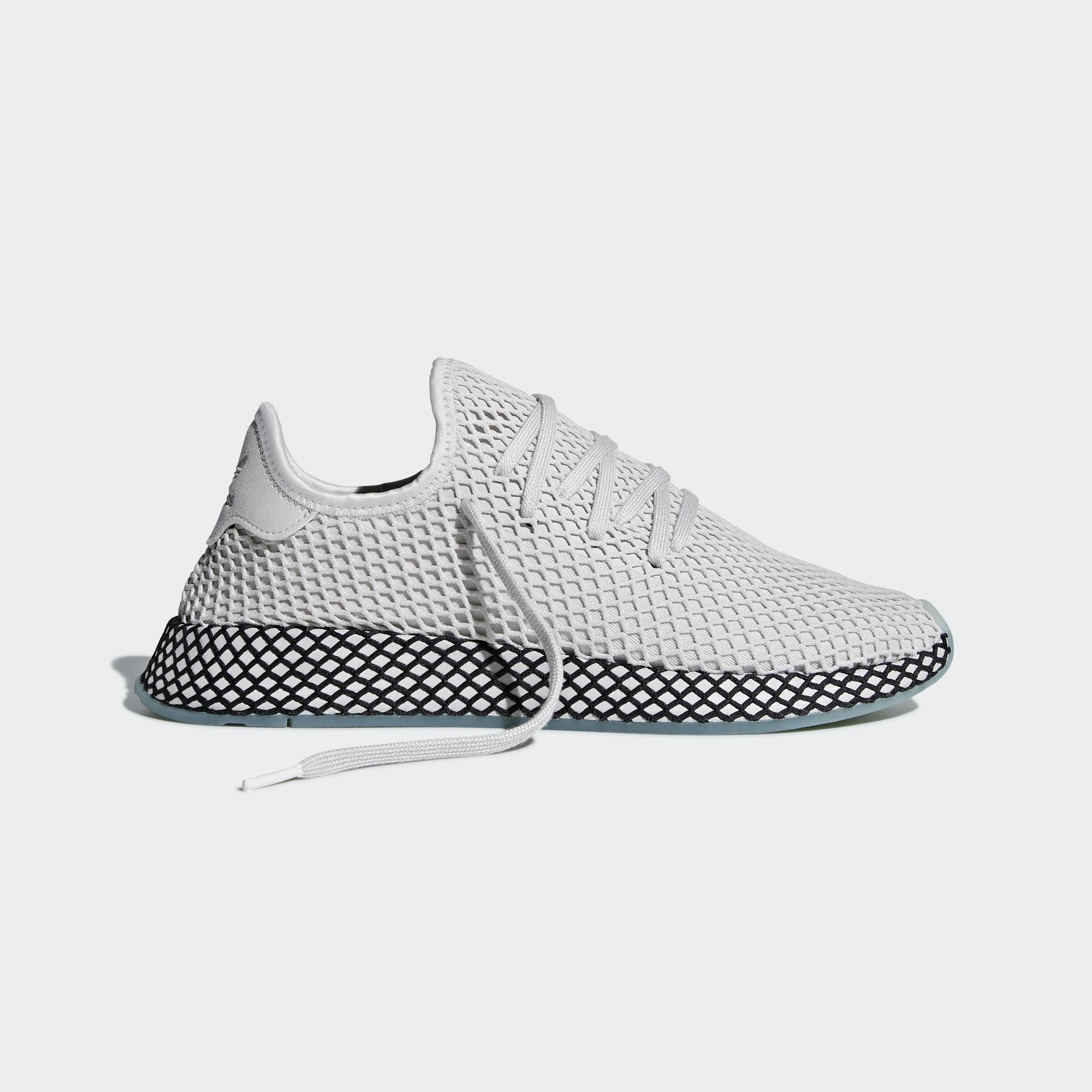 Adidas Deerupt Runner Grey One / Grey One / Clear Mint (B41754)