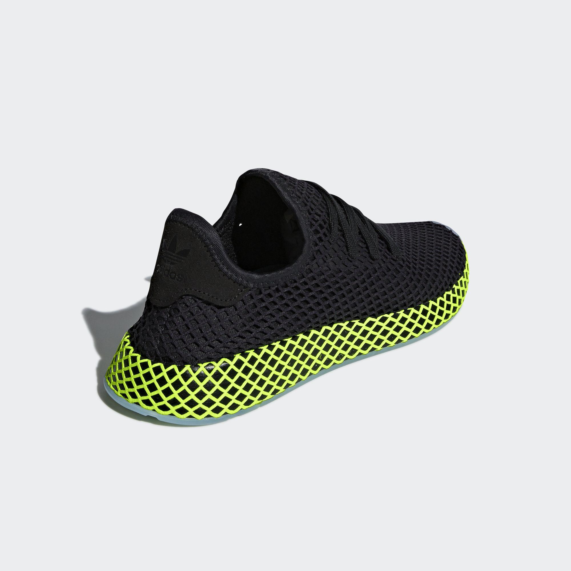 Adidas Deerupt Runner Core Black / Core Black / Ash Blue (B41755)