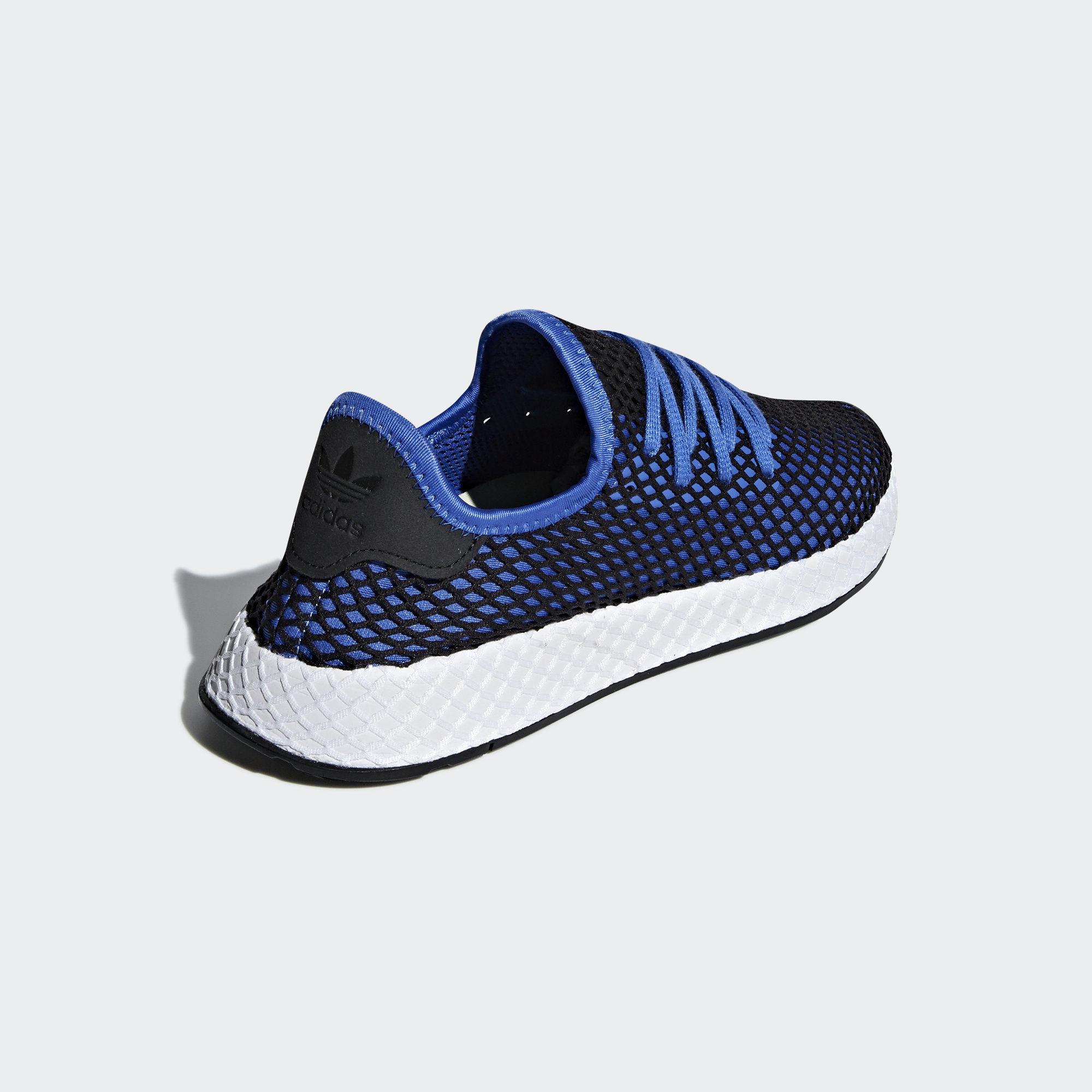 Adidas Deerupt Runner Hi-Res Blue / Hi-Res Blue / Core Black (B41764)