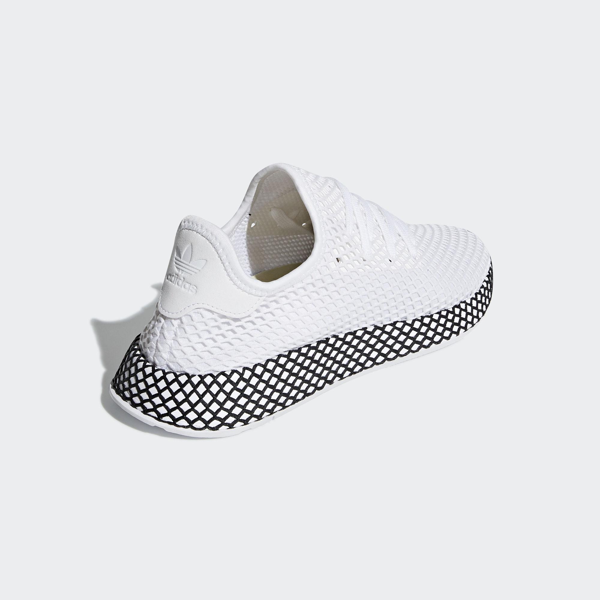 Adidas Deerupt Runner Ftwr White / Ftwr White / Core Black (B41767)