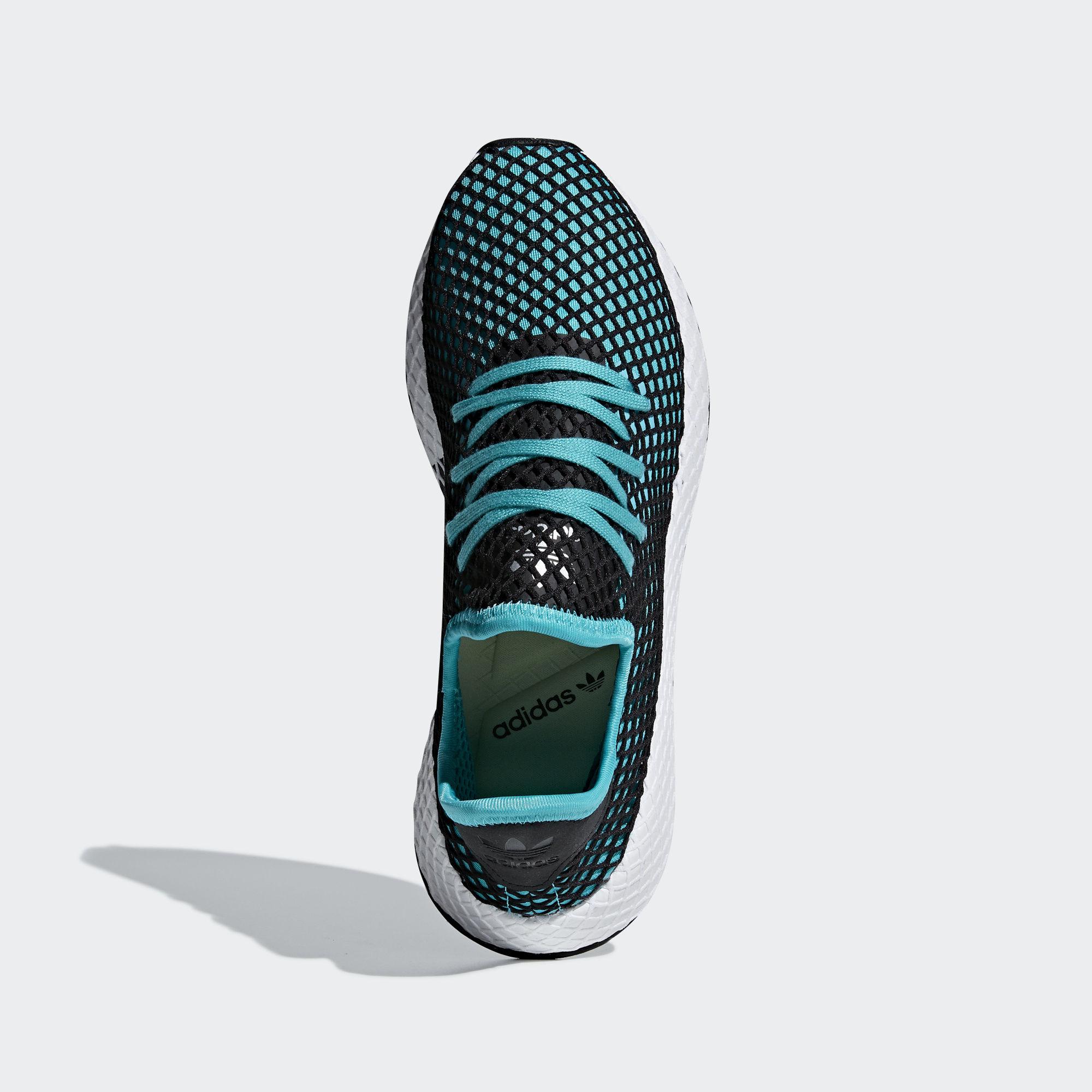 Adidas Deerupt Runner Hi-Res Aqua / Hi-Res Aqua / Core Black (B41775)
