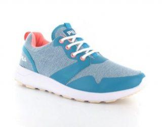 Fila Ladies Sneaker Schoenen (Turquoise)