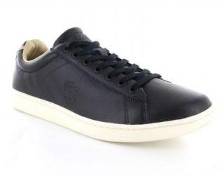 Lacoste Carnaby Evo 316 1 Leren Sneaker (Zwart)