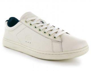 Lacoste Carnaby Evo 316 1 Heren Sneaker (Wit)