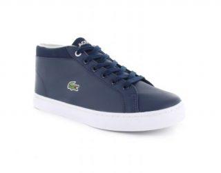 Lacoste Straightset Chukka 316 1 Blauwe Jr Sneaker (Blauw)