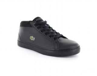 Lacoste Straightset Chukka 316 1 Spc Zwarte Sneaker (Zwart)
