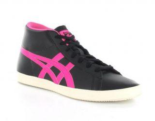 Onitsuka Tiger Grandest Dames Ot Sneaker (Zwart,Roze)