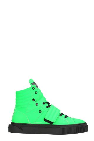 Gienchi Gienchi Hypnos Green Rubber Sneakers (groen)