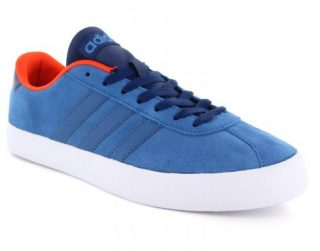 Adidas Vlcourt Vulc Suede Sneakers (Blauw)