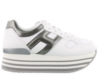 Hogan Hogan H222 Maxi Sneakers (wit/zilver)
