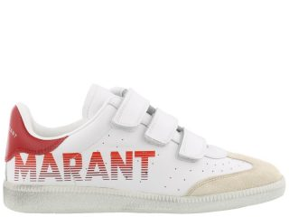 Isabel Marant Isabel Marant Beth Sneakers (wit/rood)