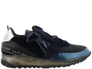 Leather Crown Leather Crown Aero Sneakers (grijs/blauw)