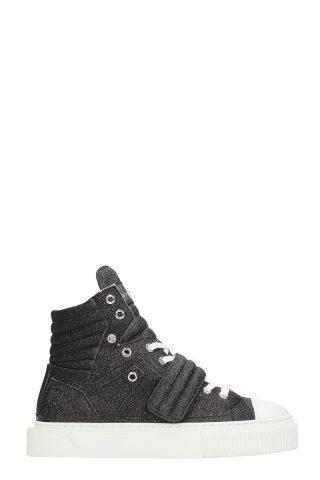 Gienchi Gienchi Hypnos Black Glitter Sneakers (zwart)