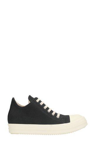 DRKSHDW DRKSHDW Black Wool Sneakers (zwart)