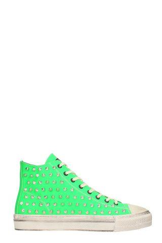 Gienchi Gienchi J.michel Grren Rubber Sneakers (groen)